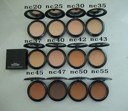 Wholesale Circles Sizes - Makeup Studio Fix Face Powder Plus Foundation 15g Pressed Powder 10pcs