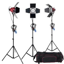 Alta calidad Dimmer Switch 3 unids 800 W Studio Video Red head Kit de iluminación + Bulbo + Bolsa de transporte Equipo fotográfico Envío gratis desde fabricantes