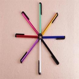 Lapis nota on-line-Liga de alumínio stylus caneta de toque para o telefone inteligente telefone celular toque de telefone para samsung galaxy s7 s6 s5 nota 4 5 7 tablet