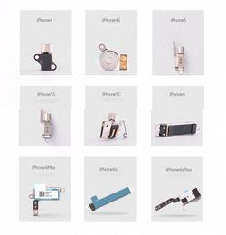 Wholesale Iphone Vibrator Motor - Original Vibrator Motor Spare Parts Replacement for iPhone 4 4S 5 5C 5S 6 6Plus 6S 6S Plus