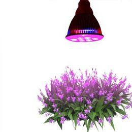 Wholesale Led Ufo Grow E27 - Wholesale 12 Led Plant light 36W E27 Led Hydroponic Plant Flowers Vegatables Green Led Grow Lights Plant Growing Lamp
