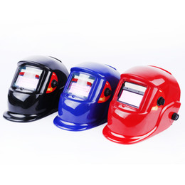 Wholesale Tools Welders - Mask Welder Mask automatically variable light upgrade PP raw materials non-toxic anti-roast Safety Helmets Welding tools