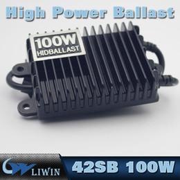 Wholesale Dc Slim Hid Kit - 12V Slim Ballast Replacement DC Headlight Ballast For H4 9004 9005 9006 D2S 100W Xenon HID Light Kit