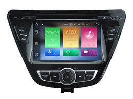 Wholesale Hyundai Elantra Dvd - Navirider 2GB ram 32gb ROM octa core Android 6.0 Car DVD player GPS for HYUNDAI ELANTRA 2014 2015 stereo head units DVR RADIO 3G GPS NAVI