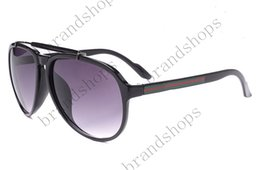 Wholesale Designer Brand Eyewear - wholesale 6 color Outdoor goggle brand designer Eyewear Italy round Sunglasses Men women shade Fashion Retro with original Zipper case
