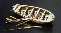 Wholesale Wooden Model Sail Boats - Wholesale- Free shipping Classic wooden sailing boat assembled Scale Mayflower boat model Aficionados