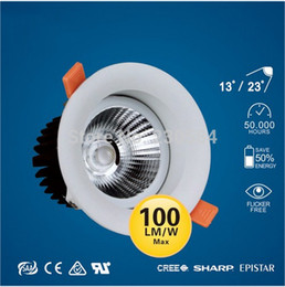 Wholesale Downlight Inch - Wholesale- 4 inch commercial recessed 9w downlight,CE SAA FCC safety lamp clothing shop,hotel, residential lighting 100lm W