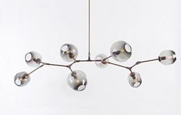 Wholesale Vintage Bubble Light Lamp - Lindsey Adelman Chandeliers Lighting Modern Globe Glass Bubble Pendant Lamp Natural Tree Branch Suspension Light Hotel Dinning Room Light
