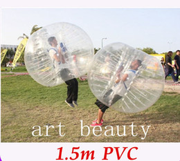 Wholesale Inflatable Human Body - Free Shipping Bumper Ball Giant Human Body Soccer Inflatable Bubble Ball Suit For Football For Sale