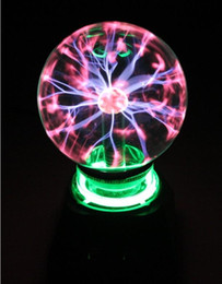 Wholesale Plasma Lighting Ball New - Wholesale- 2016The new plasma light magic crystal balls and free shipping hot holiday gifts