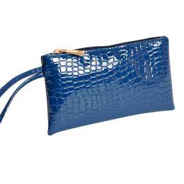 Wholesale Crocodile Hobo Bag - Wholesale- Hcandice Women Crocodile Leather Clutch Handbag Bag Coin Purse Wallet Best Gift Wholesale Jan10