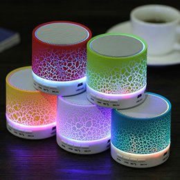 Wholesale Radio Stand - Portable A9 Mini Wireless Bluetooth Speaker LED TF USB Subwoofer Loudspeakers 3.5mm MP3 Stereo Audio Music Player
