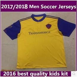 Wholesale Colorado Shorts - Thai quality 2017 MLS American Colorado Soccer jerseys 17 18 Rapids Major League men football shirt