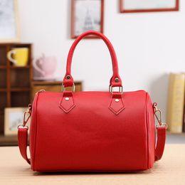Wholesale Cell Phone Purse Strap - Wholesale- Fashion Women Luxury Handbag Solid Strap Shoulder Bag Casual Tote Purse Leather Messenger Hobo Bag Bolsas De Couro #0606