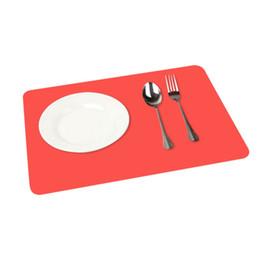Квадратный силиконовый коврик для выпечки онлайн-Оптовая Продажа-Новейшие Силиконовые Выпечки Мат Антипригарным Пан Лайнер Placemat Таблица Протектор 6 Цвет