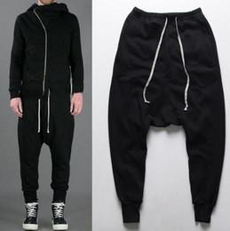 Calzoncillos negros para hombre Harem de moda Pantalones para hombre de algodón de alta calidad Pantalones deportivos ocasionales para pantalones deportivos Pantalones deportivos Pantalones deportivos desde fabricantes