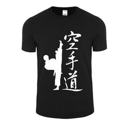 Wholesale Men V Neck Tshirts - New Summer Men Tshirts Shotokan Samurai Printed T Shirt Men Graphic fashion Casual Tee Shirts