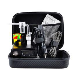 Wholesale Tools Boxing - Quartz E Dab Nail Box Kit Electic 14 18 MM Female Male Quartz Nail Electric Dab Nail Complete Kit Temperature Controller 100w Dabber Tools