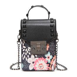 Wholesale wild totes - 2017 new tide Korean version of the fashion wild Messenger Messenger mini chain of small square bag shoulder bag