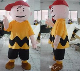 Wholesale Charlie Brown Mascot - Manufacturer Direct selling high quality Fancy Dress Charlie Brown MASCOT Adult Carnival Mascotte cosply Dress Kits Suit Factory Direct