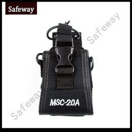 Wholesale Tyt Radio Case - MSC-20A Carrying Case radio bag pouch for Baofeng bf-uv5r,for TYT for WOUXUN Walkie Talkie for motorola two way radio