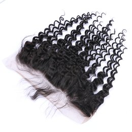 Wholesale Virgin Hot Full - Best Quality Hot Sell Brazilian Peruvian Indian 13*4 Loose Curly Lace Frontal Human Virgin Remy Full Head Unprocessed Hair Extensions