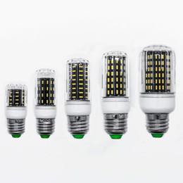 Wholesale smart ceiling lighting - LED E27 Bulb Lamp Corn Ceiling Spot Light High Bright 220V 110V 4014 SMD 138LED 96LED 72LED 56LED 36LED Household energy-saving