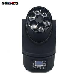 Les mini yeux d'abeilles de LED ont mené l'éclairage principal mobile de la lumière 6x15W RGBW 4IN1 LED de la lampe 11/14 CanauxStage de canaux ? partir de fabricateur