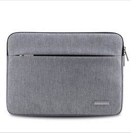 Wholesale Gray Clutch Bags - Terylene Bags Fashion Business Bag for 15 inches Ipad Envelope Clutch Bag for Men and Women
