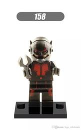 Wholesale Toy Ants - Wholesale 10pcs Star Wars Super heroes DC Marvel ANT MAN Hank Pym Avengers Building Blocks Sets Model Bricks Toys For Children