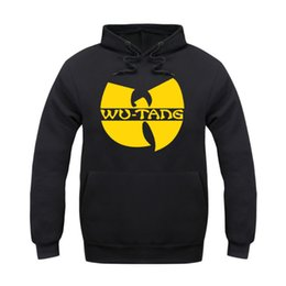 Wholesale xs jackets for men - Wholesale-wu tang clan hoodie for men classic style winter sweatshirt 5 style sportswear hip hop jacket clothing fast shipping ePacket