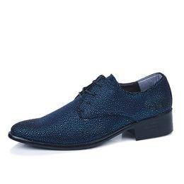 Wholesale Bridegroom Shoes - Unique design fashion leisure business men Leather wedding shoes bridegroom Shoes grooms men shoes