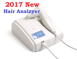 Wholesale Dhl Free Shipping Digital Camera - 2017 Newest 8.0 MP High Resolution Digital CCD USB Multifunction UV Hair Analyzer Hair Camera Hairscope Hair Diagnosis DHL Free Shipping