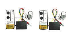 Wholesale remote control jeeps - Free Shipping TWO PIECES 24V Wireless Winch Remote Control Switch Unit for Truck Jeep ATV SUV Winch2016new arrival