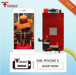 Livraison DHL gratuite Excellente Qualité A +++ Pour iphone 8 Assemblée Écran Tactile Digitizer Assemblée Remplacement ? partir de fabricateur