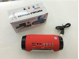 Wholesale Wholesale Pills - C-65 New Pills Bluetooth Speaker Mini Pulse Speaker Portable Active Speaker Build in Mic Handsfree Support TF USB FM For Mobile Phones