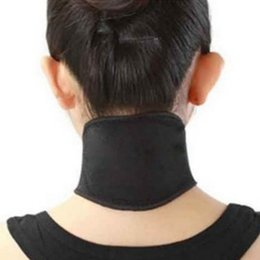 Wholesale Wholesale Magnetic Therapy - Wholesale- 1 Pcs Tourmaline Magnetic Therapy Neck Massager Cervical Vertebra Protection Spontaneous Heating Belt Body Massager