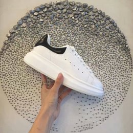Wholesale Big Savings - 43 colors Brand Leather High Top Sneakers Fashion and Streetwear Arena Shoes Big Saving Up race white grey sneaker shoes35-45