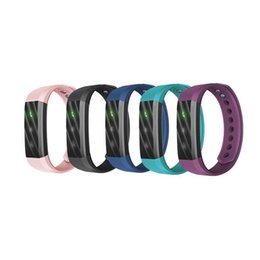 Wholesale Fitness For Life - Bluetooth Smart Bracelet Fitness Tracker Step Counter Activity Monitor Smart Sports Wristband Life-level Waterproof With Retail Packing