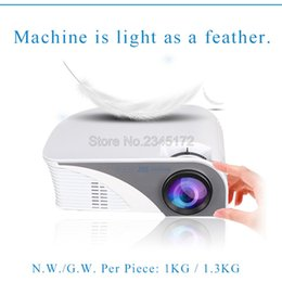 Wholesale Newest 3d Movies - Wholesale-Newest RD805 Upgrade RD805B MINI Projector Proyector Beamer For Video Game TV Home Theatre 3D Movie Support HDMI VGA AV SD USB