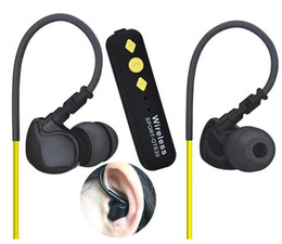 Wholesale sharp wear - Wireless Sport Bluetooth OTE20 Headphones with microphone Portable lightweight Ear Hook Running Music Headset for iphone comfortable wearing
