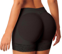 Wholesale Short Tights Woman - Sexy Women Butt Lifter Tummy Control Hip Tight Push Up Thigh Trimmer Control Keep Warm Women Lace Panties Plus size