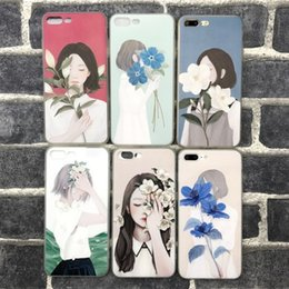 Wholesale Iphone Sleeve Thin - For iphone6s cell phone with iphone7 plus Embossed painted TPU ultra-thin protective sleeve wholesale price 2017 best new free shipping