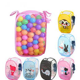 Wholesale Bucket Organizer - Animal Storage Basket Laundry Folding Bag Dirty Clothes Collect Laundry Bucket Storage Basket Laundry Basket Bins Organizer Hampers KKA2310
