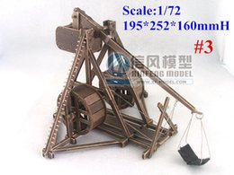 Wholesale 72 Models - 1:72 scale Food Stepping trebuchet Rome1385 Holiday gift model kit #3