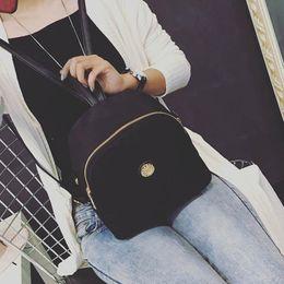 Wholesale Best Leather Travel Bags - Wholesale- Best Gift Women Fashion Nylon Waterproof Rainproof Travel Satchel School Bag Backpack d9 Drop Shipping Wholesale