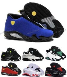 2017 entraîneur de chaussures de basket-ball rétro Airlis Basketball Shoes Retro 14 trainers Sneakers Homme 2017 Blanc Authentique Retro 14s Sports Homme Low Retro Shoe Boot Outdoors J14s Shoe entraîneur de chaussures de basket-ball rétro promotion