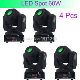 Wholesale Pc Sound Bar - Wholesale- 4 Pcs Hot Good Quality 60W LED Spot Light DMX512 Master-Slave Auto Run Sound Controller Moving Head Light DJ Bar Performance