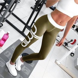 Wholesale Trousers For Womens - Wholesale- Hot Sale Womens Sexy Print Active Fitness Slim Leggings For Woman Purple Fashion Beauty Skinny Legging Pants Stretch Trousers XL