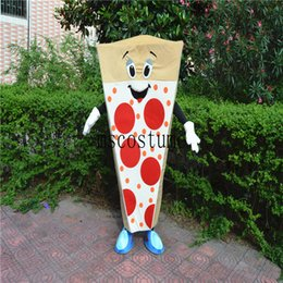 Wholesale Food Costumes Adults - 2017 new pizza mascot clothing adult size food cartoon walking cartoon costume party celebration
